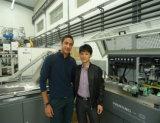 中国紫外線乾燥システムが付いている多色刷りスクリーンプリンター