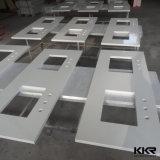 Выполненные на заказ чисто белые искусственние Countertops кварца