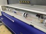Gewebe-Ausschnitt-Gravierfräsmaschine Laser-30W hölzerne