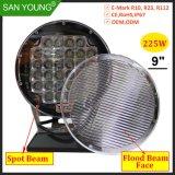 9pouce 225W Projecteur LED LED super lumineux des feux de conduite