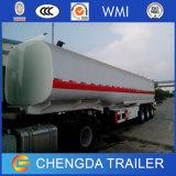 Angestrichener Tri Wellen-Aluminiumheizöl-Tanker-halb Schlussteil
