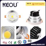 Alta MAZORCA LED Downlight del lumen SMD2835 con el certificado del Ce