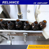 Automatic e cigarros garrafa de vidro, Stoppering enchimento líquido e máquina de nivelamento