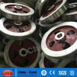 中国のブランドの鋳造物鋼鉄鉱山車車輪