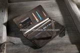 Vintage Style молнией Bilfold Wallet женщин Кожаное портмоне