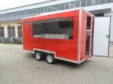 Трейлер еды тележки еды улицы кухни тележки таможен поставляя еду передвижной