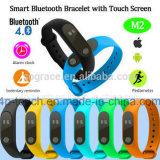Wristband simples de venda quente esperto/bracelete de Bluetooth com indicador M2 de OLED