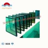 16.76mmの低くE明確な青緑の灰色の青銅によって和らげられる薄板にされたガラス