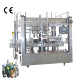 Automatische selbstklebende Papieretikettiermaschine für runden Zylinder