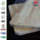 標準的な純木のゴム製木製の円形のダイニングテーブル