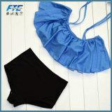 Duas peças OEM Bikini mulheres calções de banho