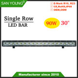 30pouce 90W Offroad barre LED 4X4 bar lumineux pour LED Cree Chips IP68