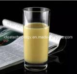 Café de la copa de cristal de leche té beber la copa de cristal