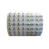 El papel de aluminio para las toallitas húmedas