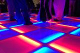 Gehard glas die Vloer voor de Decoratie van Prom van de Partij van DJ van het Huwelijk verven