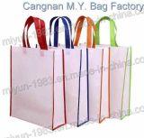 Sacco promozionale non tessuto riutilizzabile dei sacchi di acquisto (M.Y M-109)
