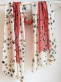 Cashmere Lã xailes de impressão
