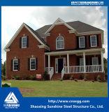 2017 fácil montar Construções prefabricadas Villa House com viga de aço soldadas