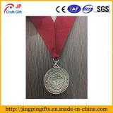 Medaglia di sport del premio del ricordo del metallo con il nastro
