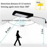 108 DEL 2100lm Radar à énergie solaire le capteur de mouvement de paroi étanche de plein air d'éclairage Lampe Chemin de triage de la rue Garden