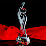 Großhandelskristallglas-Kugel-Trophäe &Award Geschenk