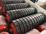 Impacto do Transportador do transportador de rolos revestido de borracha para cimento