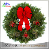 Украшений рождества орнамента рождества венка рождества CE вися свет гирлянды оптовых светлый
