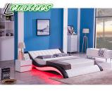 Un nuevo diseño de la música044-1 dormitorio cama muebles modernos.