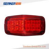 Indicatore luminoso d'avvertimento del supporto LED della superficie dei veicoli dell'ambulanza