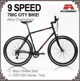 9개 속도 조정 기어 도로 자전거 도시 자전거