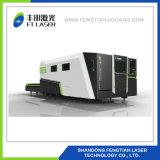 sistema completo 3015 di taglio del laser della fibra del metallo di protezione di CNC 2000W