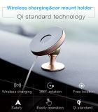 Pista de carga sin hilos del sostenedor sin hilos del cargador del coche de Qi para el iPhone 8/8 Plus/X
