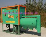 옥수수 껍질과 탈곡기 기계