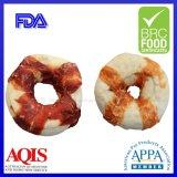 Hoog - de eiwitHond van de Snacks van de Kip/van de Eend van de Omslag van de Doughnut van de Ongelooide huid kauwt
