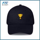 Cappello non strutturato di Snapback del cotone del berretto da baseball