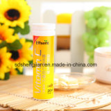 GMP diplômée blanchissant des tablettes de vitamine C de beauté