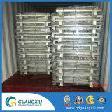 Suporte de logística Industrial Venda superior dobrável e Caixa de malha de arame para Armazenamento