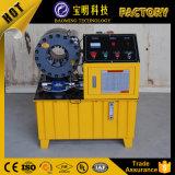 Operar facilmente hidráulico de boa qualidade promocionais de borracha de silicone máquina de crimpagem