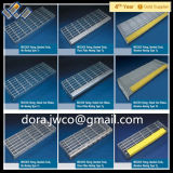Металл Stair Material и ISO Serrated Stair Treads Grating Лестниц Stairs Type Steel