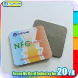 Étiquette d'étiquette en métal de collant de l'IDENTIFICATION RF NFC de NTAG203 Ntag213 anti