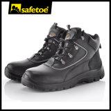 Altos zapatos de seguridad del cuero del corte para el trabajo duro al aire libre M-8307