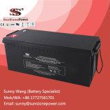 Pilha recarregável Bateria de chumbo-ácido selada MGA 12V 160 Ah