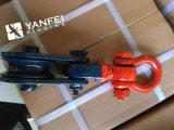bloque del ojo del eslabón giratorio del cable de 2ton H419 con el grillo rojo y la carrocería azul