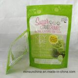 Stand up Sacs en plastique avec un logo propre pour l'emballage Sucre