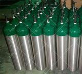 Réservoir d'oxygène médical en aluminium approuvé de la CE