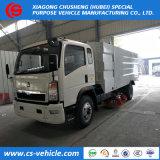 昇進HOWO 4X2の高圧道の洗浄および広範なトラックの真空タンク