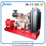 La norma NFPA 20 Listado de Motor Diesel horizontal de la bomba de agua contra incendios
