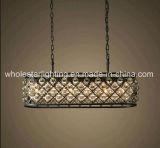 Metallischer Clinder Leuchter mit Kristallkugeln (WHG-927)