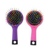 Petit volume Rainbow brosses Brosses à cheveux démêlant Curl cheveux Peignes avec miroir magique droites Rainbow brosse à cheveux