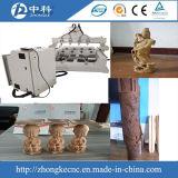 CNC di legno 3D che intaglia la macchina del router